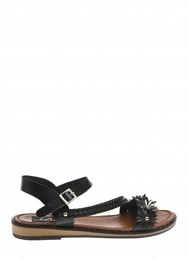 Derigo Derigo 7517 Kadın Sandalet Siyah